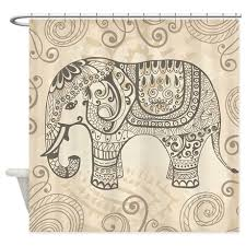 vintage elephant shower curtain elephant shower curtains