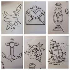image result for how to draw traditional tattoos tattoos