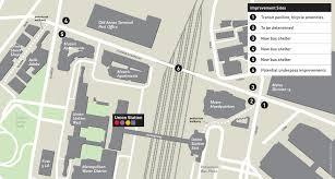 La Metro Bus Map by Metro Plans Upgrades For Union Station Bus Stops Urbanize La