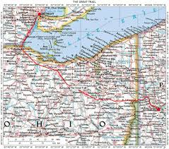 Map Of Mackinac Island Illinois Ohio Indiana Michigan Wisconsin Historic Roads Paths
