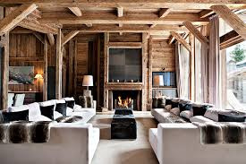 Lodge Interior Design by The Paper Mulberry Ski Lodge Style
