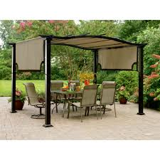 Backyard Canopy Covers Patios Home Depot Gazebo Replacement Canopy Target Gazebo