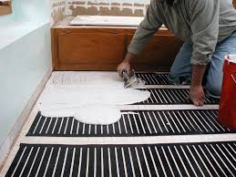 flooring unique diy heated floor image design radiant heat part