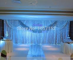 wedding backdrop drapes wedding backdrop drapes curtain wholesale stage decoration 10ft