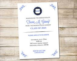 academy graduation invitations graduation invitation etsy