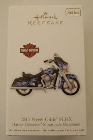 hallmark harley davidson ornaments collection on ebay