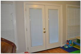 Exterior Single French Door by Patio French Doors With Blinds Inside Patios Home Furniture
