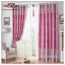 Pattern Window Curtains Dressing Room Curtain Home Hotel Use And Piece Dye Pattern Window