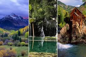 most scenic places in colorado colorado the most