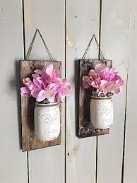 jar vase floral wall sconce individual jar sconce
