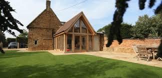 modern extensions cottage oak extension medbourne cottage extension
