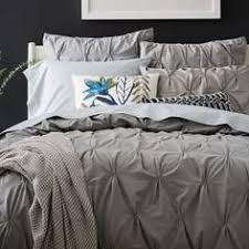 organic smock pleated duvet cover shams west elm fair trade and