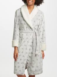 john lewis zip waffle hooded dressing gown grey compare bluewater