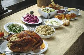 doing thanksgiving buffet style check out the food