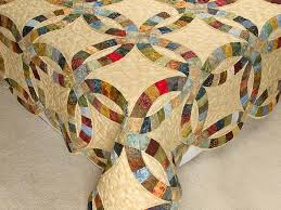 double wedding ring quilt magnificent made with care amish