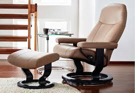 Office Chair And Ottoman Stressless Garda Recliner Chair And Ottoman By Ekornes Garda