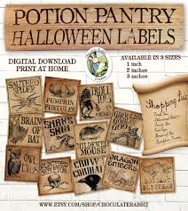 halloween apothecary jar labels potion pantry halloween witch potion bottle apothecary labels
