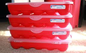 storage bins ornament storage containers plastic bins