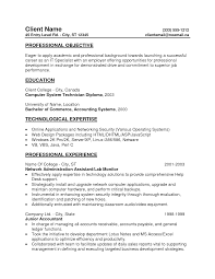Sample Resume Objectives No Experience by Sample Resumes For Entry Level Resume Examples College Students
