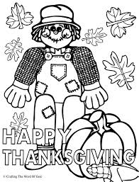 happy thanksgiving 1 coloring page thanksgiving crafts