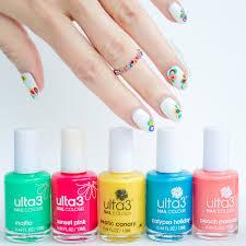 tutorial nail art foil rainbow drops drag marble nail art tutorial
