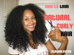 3c hair shape how i trim my hair when dry and curly the curl booth youtube