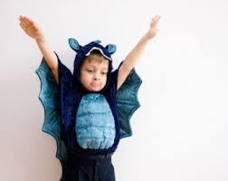 Blue Black Halloween Costumes Halloween Costume Dragon Costume Purple Black Kid