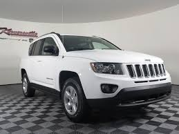 jeep white 2016 jeep compass sport 2 4l manual 4wd suv white color autocar