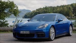 porsche panamera blue video driving 2017 porsche panamera 4s caricos com