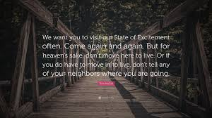quote excitement tom mccall quote u201cwe want you to visit our state of excitement