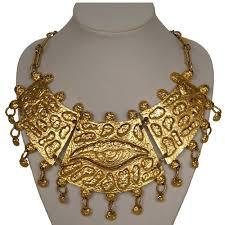 vintage necklace design images Vintage jewelry designer donald stannard necklace eye of horus egyptia jpg