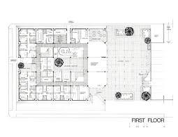 Health Center Floor Plan by Aliso Pico Multi Purpose Health Center