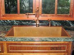 Kitchen Sinks Top Mount by Drop In Top Mount Custom Copper Sinks Made In The Usa