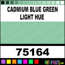 Blue Green Paint by Cadmium Blue Green Light Hue Artist Acrylic Paints 75164