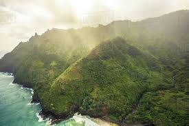Hawaii Mountains images Ocean mist and clouds sit in the mountains of kauai hawaii jpg