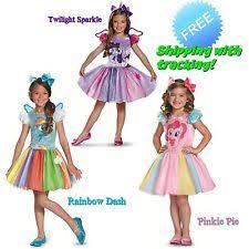 My Little Pony Halloween Costume Pinkie Pie Costume Ebay