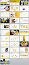 31 best yellow business report powerpoint template the highest