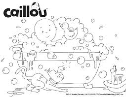Caillou Coloring Pages Sprout Sheet Bubble The Fun Best Images On Sprout Coloring Pages