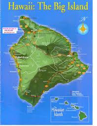 Hawaii Island Map Maps Hoku Star Realty