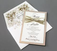 wedding invitations with ribbon plumegiant com