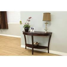 Walnut Sofa Table by Frenchi Home Furnishing Walnut Console Table Mh156 The Home Depot