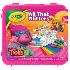 target black friday deals trolls trolls crayola all that glitters case walmart com