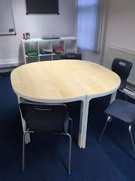 Ikea Meeting Table Bekant Conference Table Bekant Conference Table Birch Veneer