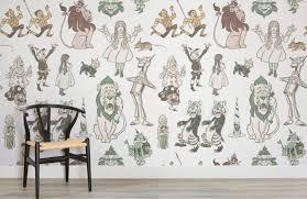 wizard of oz wallpaper mural murals wallpaper