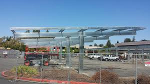 Kaiser San Jose Map Solar Parking Canopies Going Up Fast At Kaiser Permanente Santa