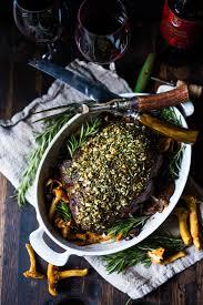Simple Elegant Dinner Ideas Rosemary Garlic Beef Roast With Wild Mushrooms Feasting At Home