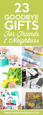 Homemade Gifts For Friends by 25 Best Goodbye Gifts Ideas On Pinterest Moving Gifts Going