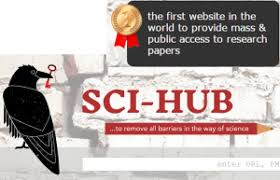 Sci Hub Sci Hub Research Crusader Or Copyright Criminal Intellectual