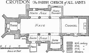All Saints Church Floor Plans by All Saints Croydon Parish Church