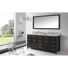 Bathroom Vanities Maryland Virtu Usa Md 2172 Wmsq Caroline Parkway 72 Square Sinks